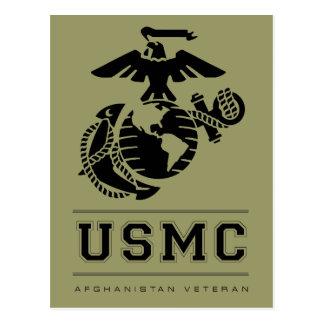 USMC Afghanistan Veteran Postcard
