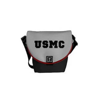 USMC [bold text] Commuter Bag