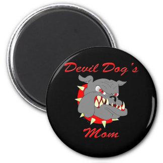 USMC Devil Dog's Mom Fridge Magnets
