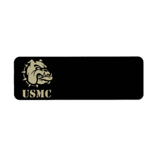 USMC Dog Return Address Label