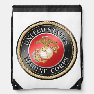USMC Drawstring Backpack