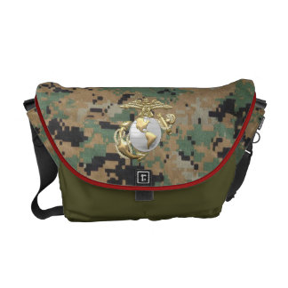 USMC Eagle, Globe & Anchor (EGA) [3D] Commuter Bags