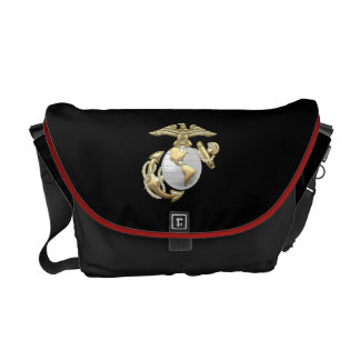 USMC Eagle, Globe & Anchor (EGA) [3D] Courier Bags