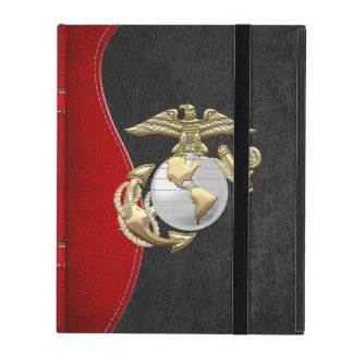 USMC Eagle, Globe & Anchor (EGA) [3D] iPad Case