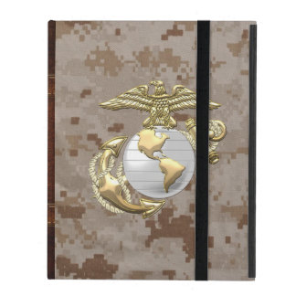 USMC Eagle, Globe & Anchor (EGA) [3D] iPad Folio Case
