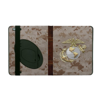 USMC Eagle, Globe & Anchor (EGA) [3D] iPad Folio Case