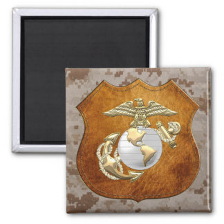 USMC Eagle, Globe & Anchor (EGA) [3D] Refrigerator Magnet