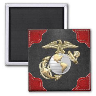 USMC Eagle, Globe & Anchor (EGA) [3D] Fridge Magnets