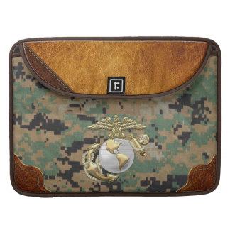 USMC Eagle, Globe & Anchor (EGA) [3D] Sleeves For MacBook Pro