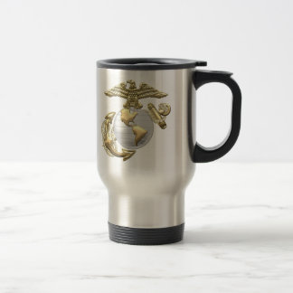 USMC Eagle, Globe & Anchor (EGA) [3D] Travel Mug
