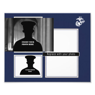 USMC EGA Photo Collage Print