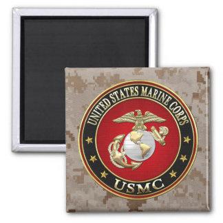 USMC EGA [Special Edition] [3D] Refrigerator Magnet