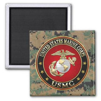 USMC EGA [Special Edition] [3D] Square Magnet