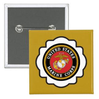 USMC Emblem 15 Cm Square Badge