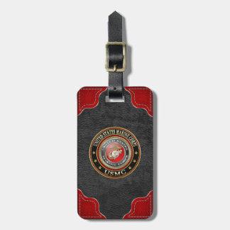 USMC Emblem Special Edition 3D Bag Tag