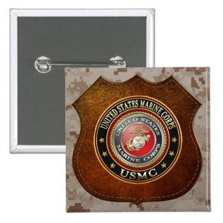 USMC Emblem Special Edition 3D Button