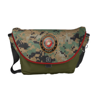 USMC Emblem [Special Edition] [3D] Commuter Bag