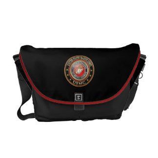 USMC Emblem [Special Edition] [3D] Courier Bags