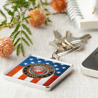 USMC Emblem Special Edition 3D Key Chain