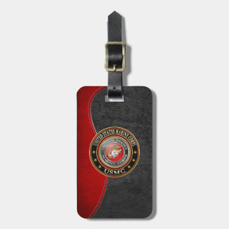 USMC Emblem [Special Edition] [3D] Travel Bag Tag