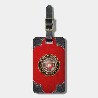 USMC Emblem Special Edition 3D Luggage Tags