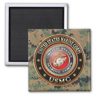 USMC Emblem Special Edition 3D Refrigerator Magnets