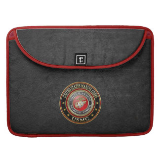 USMC Emblem [Special Edition] [3D] Sleeve For MacBook Pro