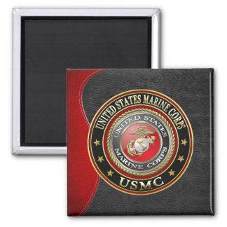 USMC Emblem [Special Edition] [3D] Square Magnet