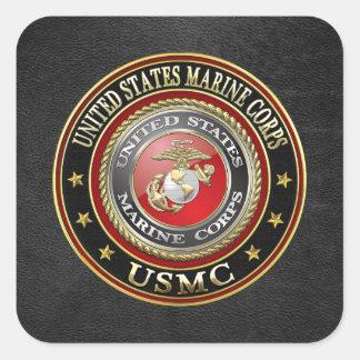 USMC Emblem [Special Edition] [3D] Square Sticker