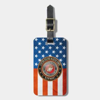 USMC Emblem Special Edition 3D Tag For Bags