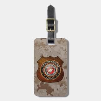 USMC Emblem [Special Edition] [3D] Tag For Luggage