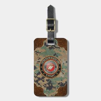 USMC Emblem [Special Edition] [3D] Travel Bag Tags