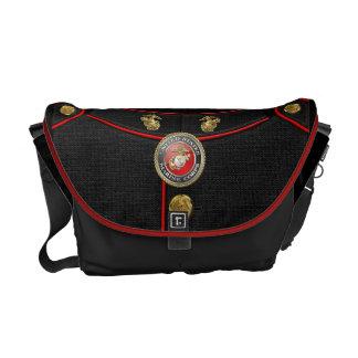 USMC Emblem & Uniform [3D] Commuter Bag