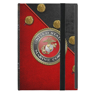 USMC Emblem & Uniform [3D] Cover For iPad Mini