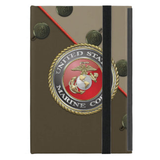 USMC Emblem & Uniform [3D] iPad Mini Cover