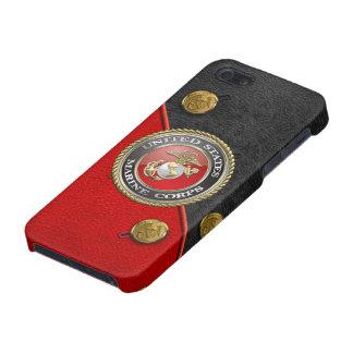 USMC Emblem & Uniform [3D] iPhone 5/5S Cover