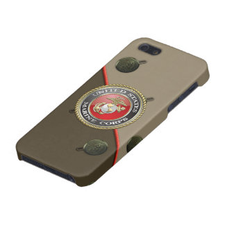 USMC Emblem & Uniform [3D] iPhone 5/5S Covers