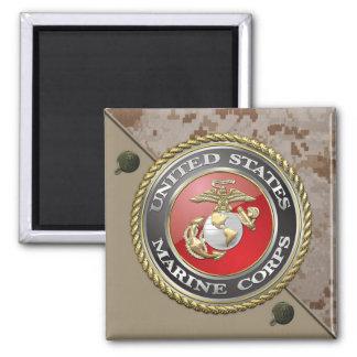USMC Emblem Uniform 3D Magnet