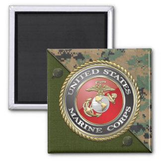 USMC Emblem Uniform 3D Fridge Magnet
