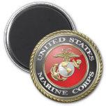 USMC Emblem & Uniform [3D] Magnets