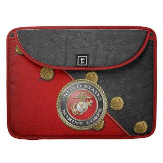 USMC Emblem & Uniform [3D] Sleeve For MacBooks