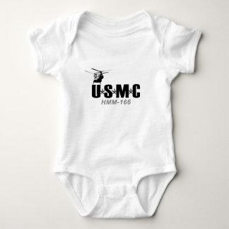 USMC HMM-166 BABY BODYSUIT