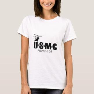 USMC HMM-166 fitted shirt