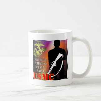 USMC I Hunt The Evil You Pretend Does Not Exist Coffee Mug