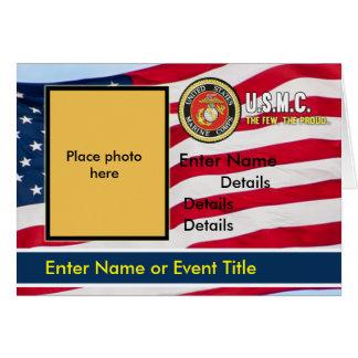 USMC Invitation Flag