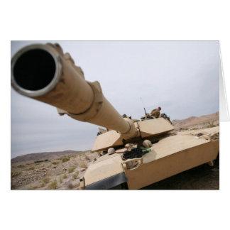 USMC M1 Abrams Greeting Card