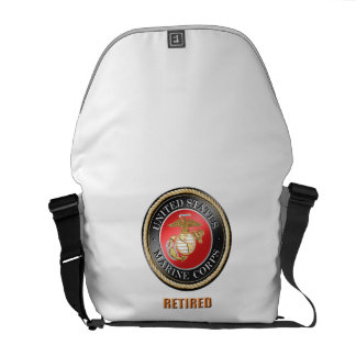 USMC Medium Zero Messenger Bag