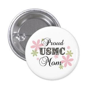 USMC Mom [fl camo] 3 Cm Round Badge