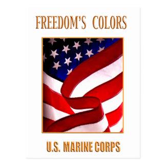USMC Postcard