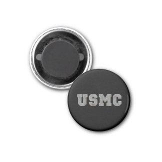 USMC [rusty text] Refrigerator Magnet